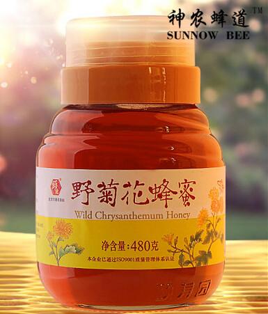 野菊花蜂蜜