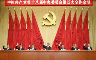 中国共产党第十八届中央委员会第五次全体会议公报