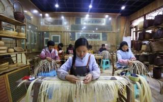 贵州赤水:竹编产业助增收